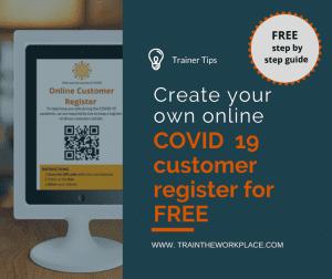TTW tips - COVID 19 register
