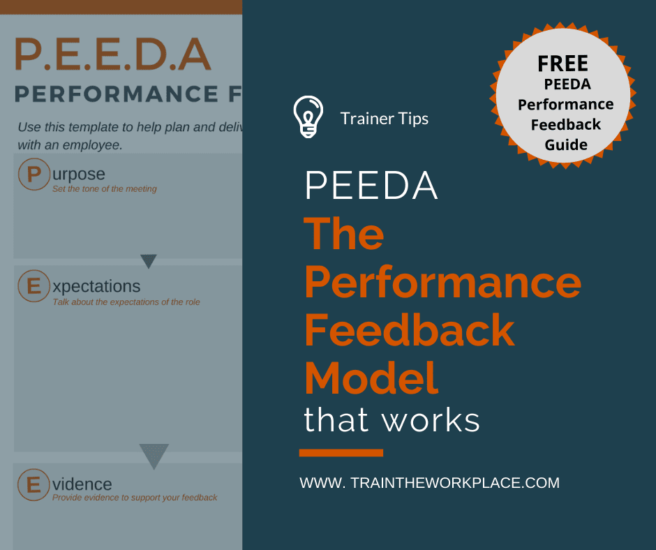 Peeda Performance Feedback Model